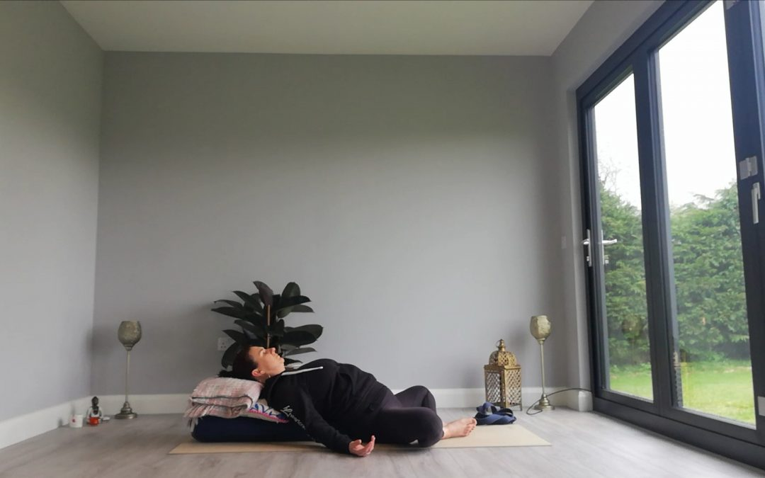 Standing Pregnancy Yoga