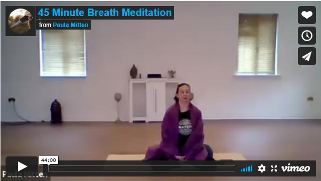 45 minute Breath Meditation