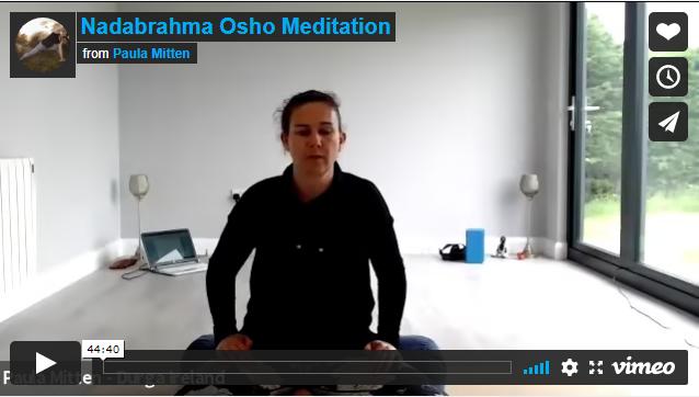 45 minute Nadabrahma Osho Meditation
